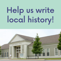 Help Us Write Local History Wowbrary