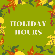 Holiday Hours 2020 2